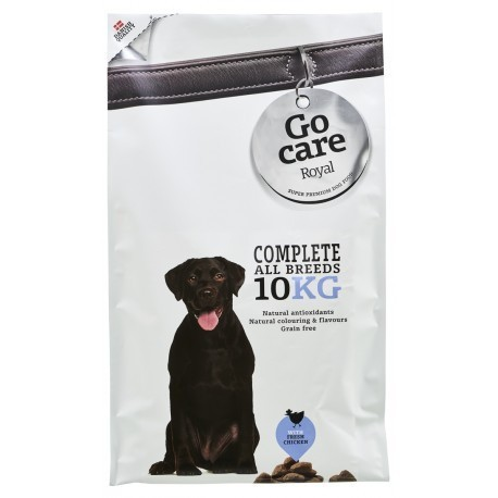 Go Care Royal Dog Complete - GRAIN FREE 10 KG.